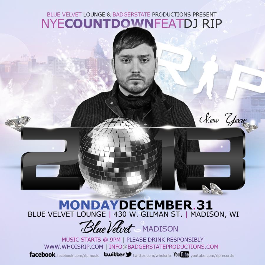 NYE with DJ Rip